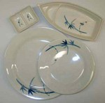 melamine dishware available in several patterns. Restaurant orders welcomed