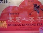 Korean Ginseng Tea       Very popular item