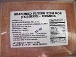 Tobikko seasoned flying fish roe 1.1 pound