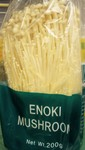 Enoki mushrooms are fabulous in soups, stews and stir-fry