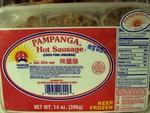 Pampanga Brand Hot Longanisa Sausage
