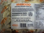 Mandoo Beef &Vegetable Dumpling (Foodservice Pack)