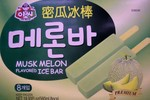 Assi Musk Melon Ice Cream Bars