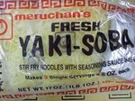 Yaki-Soba Stir-Fry noodles   3pk bag or by the case