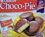 Orion brand Choco-Pie snack cakes