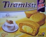 Orion brand Tiramisu snack cakes (12pk)