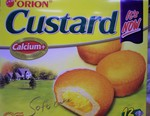 Orion brand Custard snack cakes (12pk)