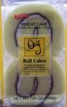 Shirakiku brand Roll Cake   (Swiss Roll 4pk)
