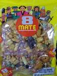 Mate brand 8 Mate Assorted Rice Crackers (16oz) (2oz x 8 packs)
