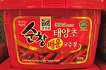 Chung Jong Won brand hot pepper paste 500G