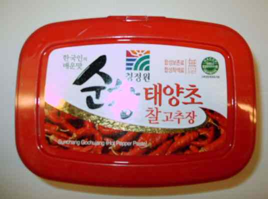 hot red pepper bean paste
